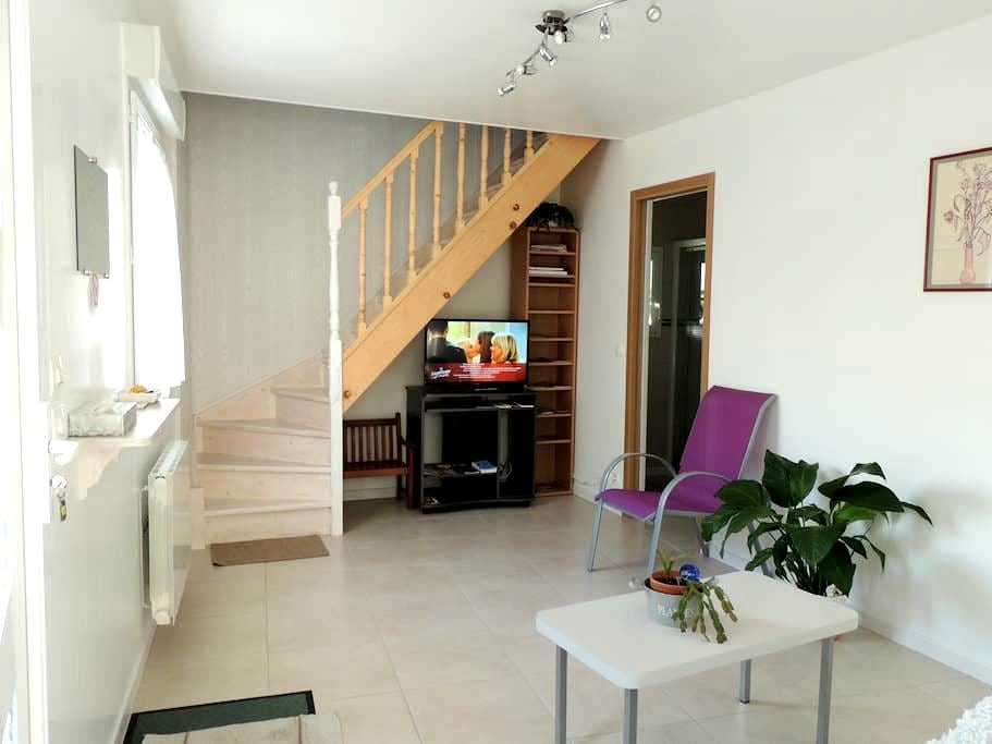 Maisonnette Neuve  facade ensoleil Vineuil Centre. - Vineuil - Apartament