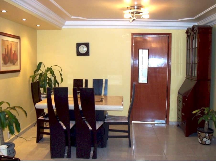Beautiful comfortable bedroom in our apartment 4 u - Ciudad de México - Huoneisto