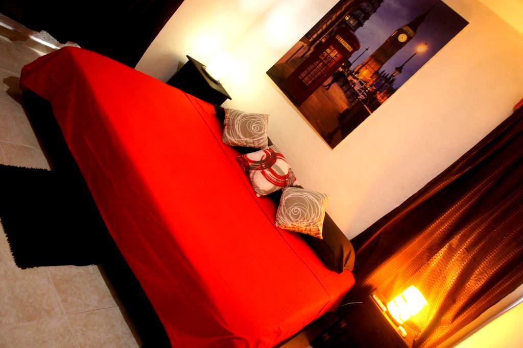 B.Beautiful BDRoom shared bathroom KS-bed downtown - Playa del Carmen  - Wohnung