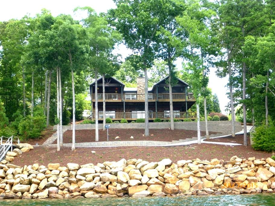 Lake Front Living at its BEST  - Chappells
