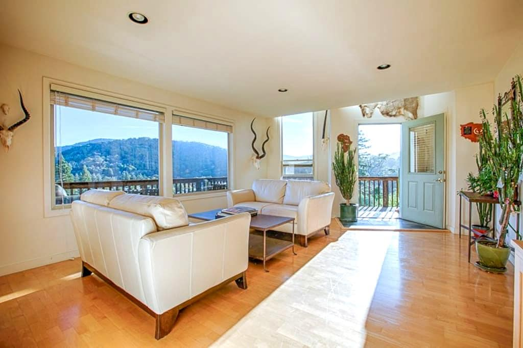 Skyline Views with an Amazing Cook's Kitchen - San Anselmo