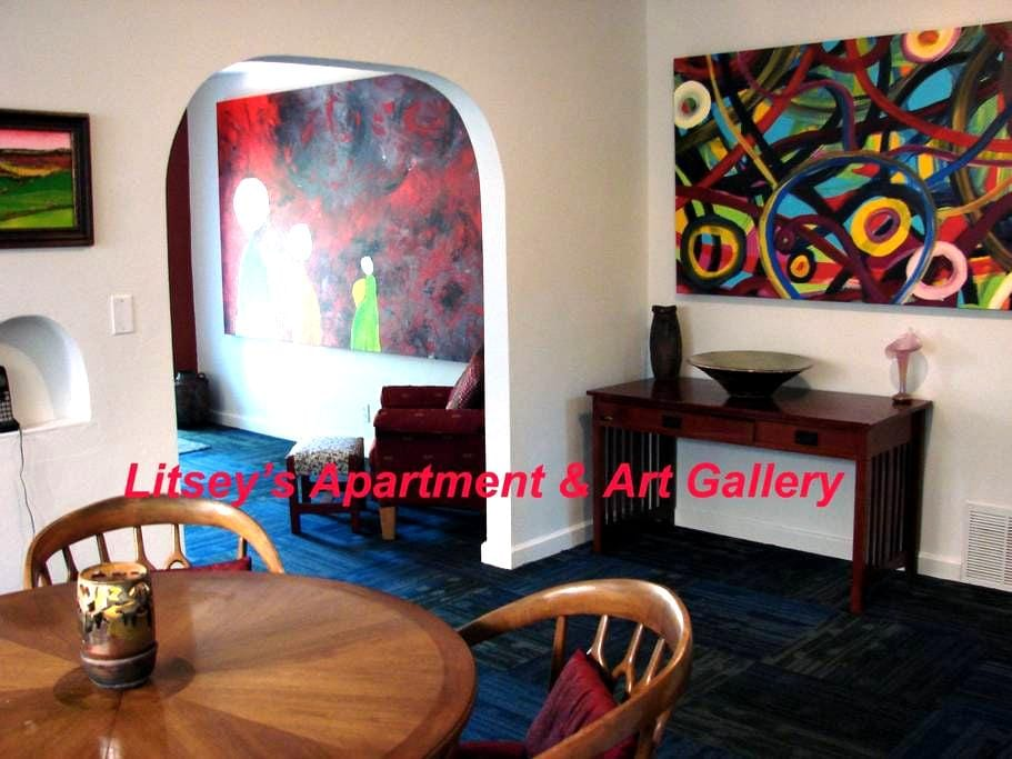 Litsey's NEW Apartment/ Home/Private. Downtown - Wichita - Huis