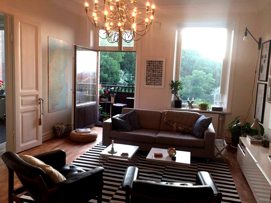 Large and newly renovated flat in Haga / Linné - Göteborg