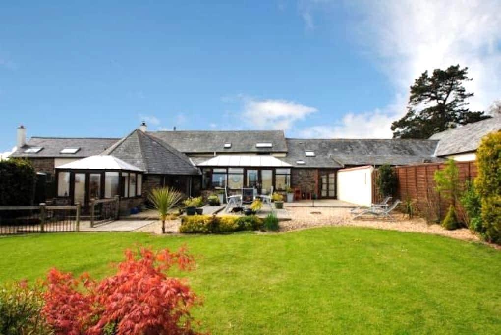 Private apartment in North Devon barn conversion - Barnstaple - Leilighet