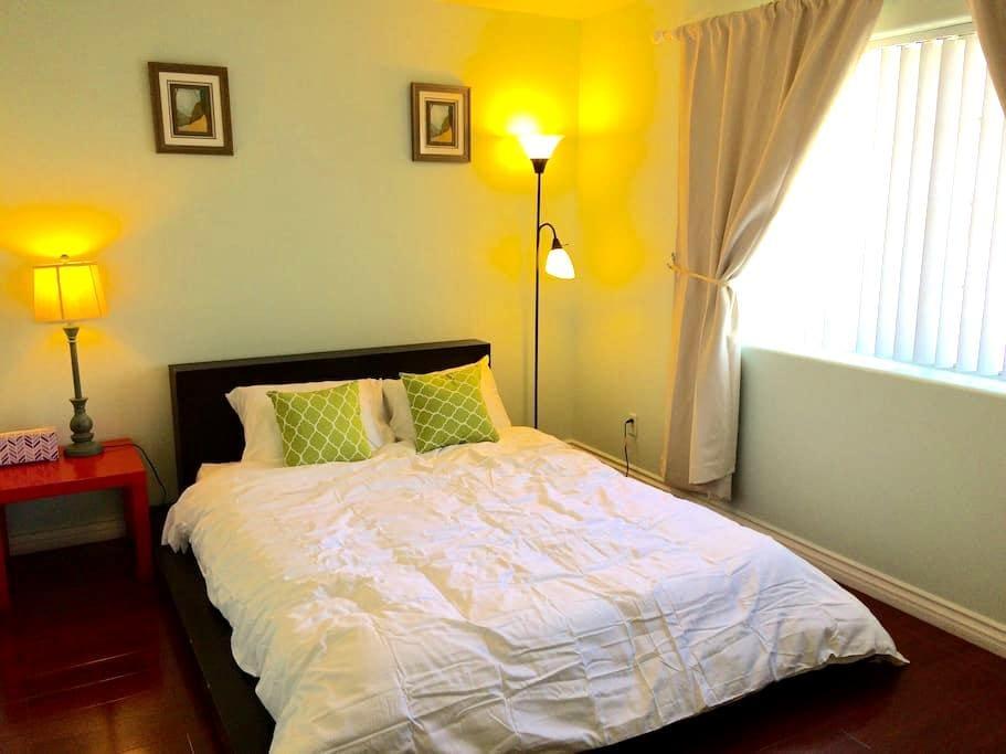 聖蓋博獨立屋2房均在二樓,高級寢具2房共$99,可住4人适家庭結伴游住 - San Gabriel