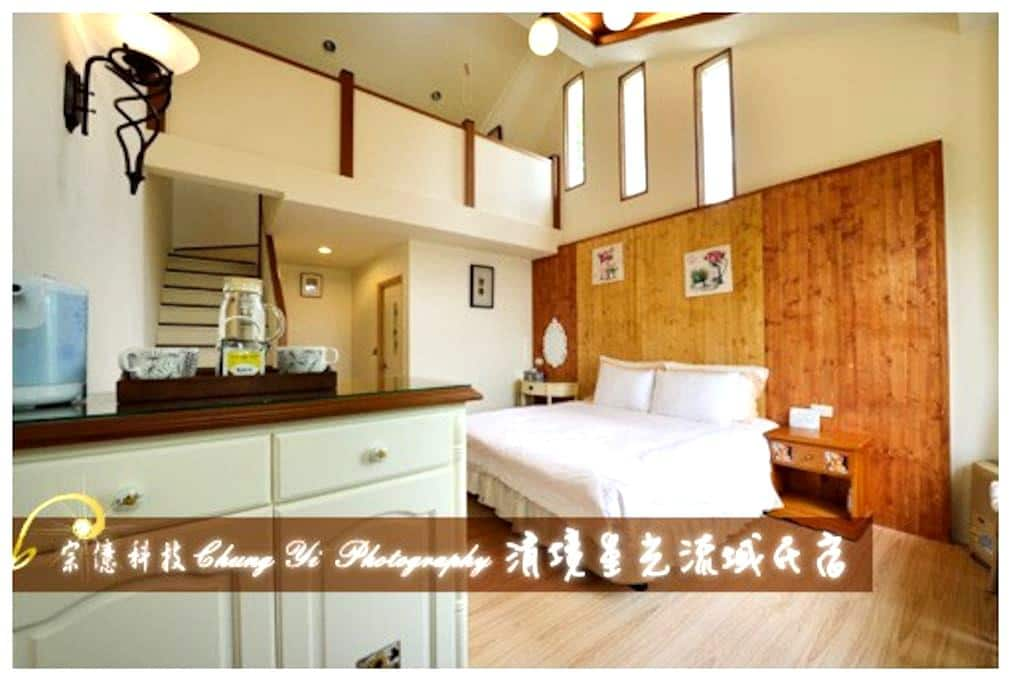 樓中樓景觀四人房 - Ren'ai Township - Bed & Breakfast