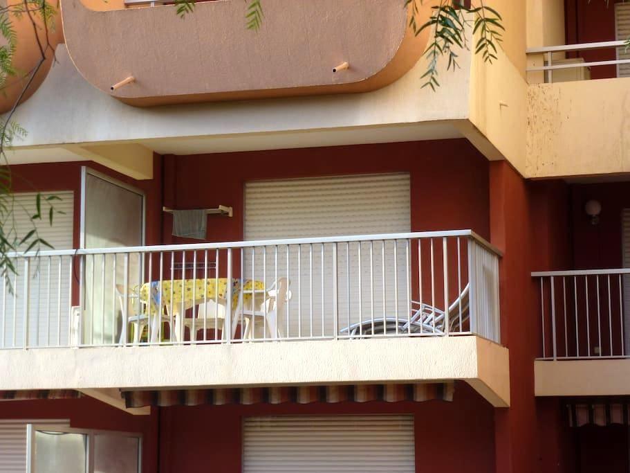 FRÉJUS PLAGE studio à 20m de la plage - Fréjus - Apartamento
