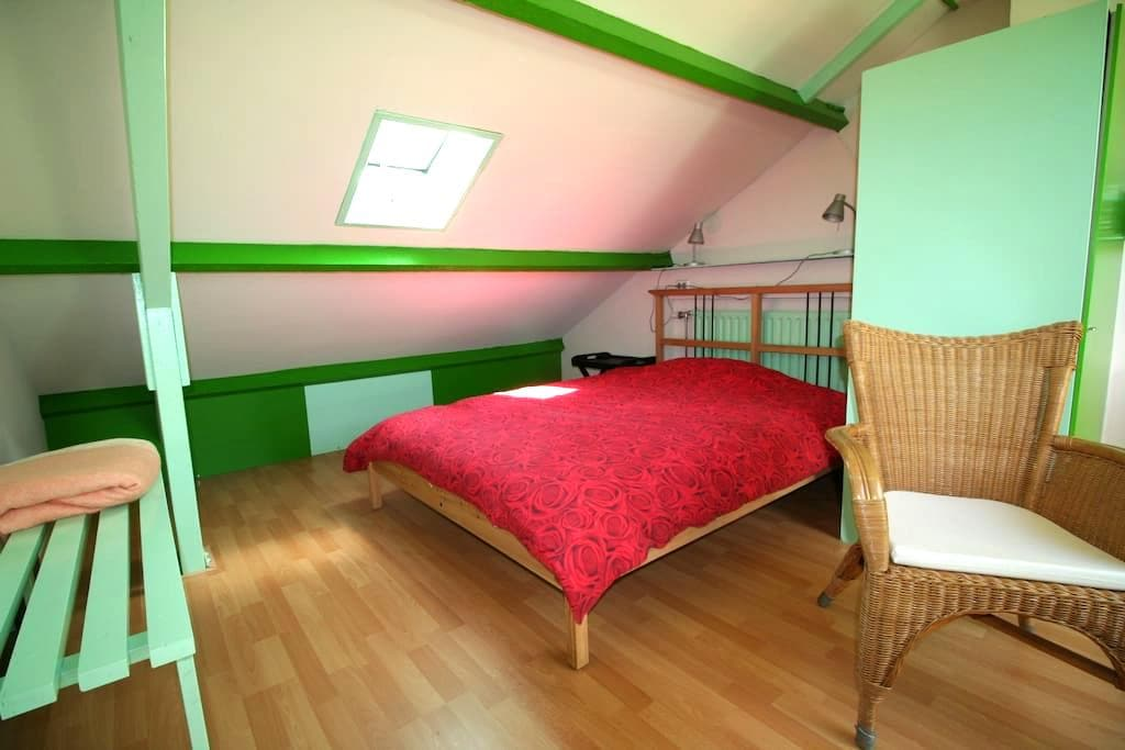 Spacious room close to railway - รอตเตอร์ดัม - บ้าน