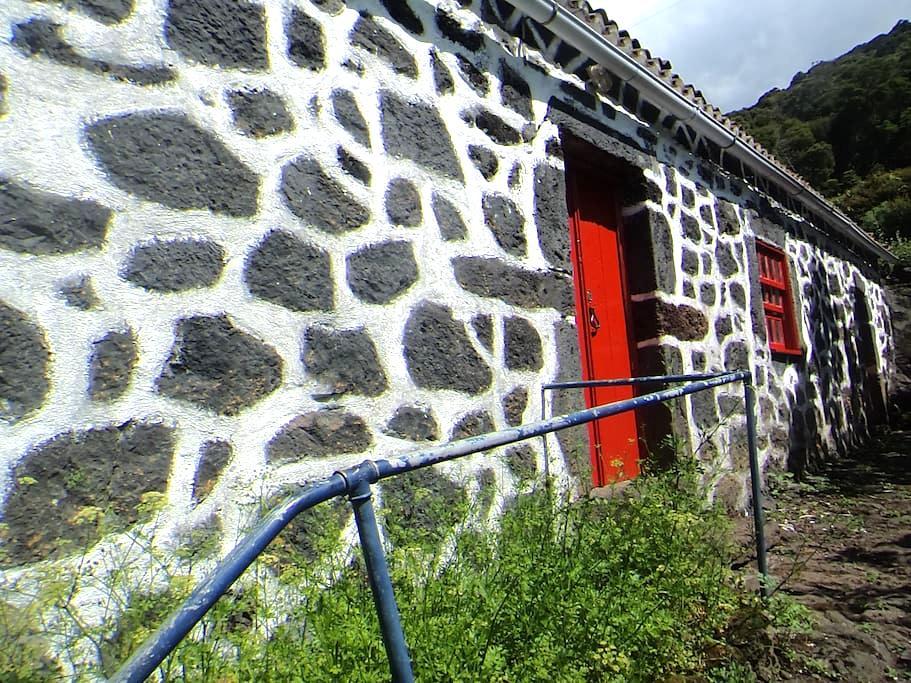 Casa de Campo com vista de mar Pico - Ilha São Jorge Açores - Ξυλόσπιτο