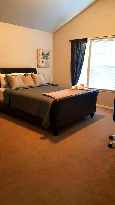 Relaxing Master with En Suite - Hillsboro - Huis