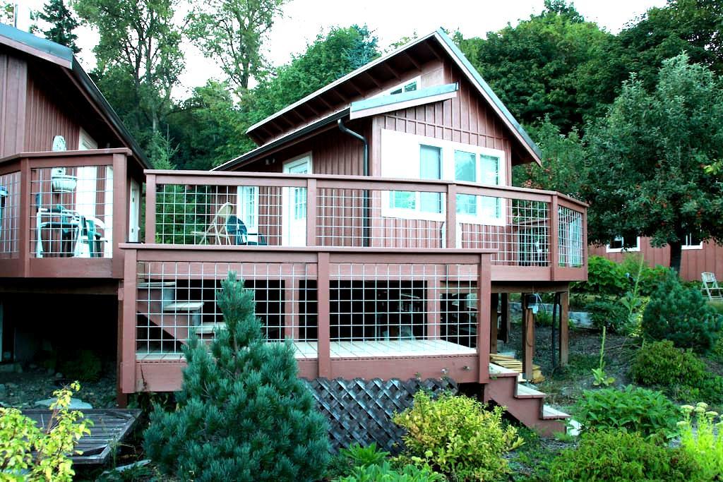 Spruce room on sunny deck at Sahale - Tahuya - Jiné