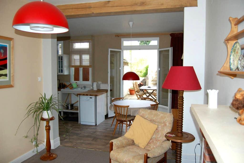 The Lodge - renovated cottage - Picauville - House