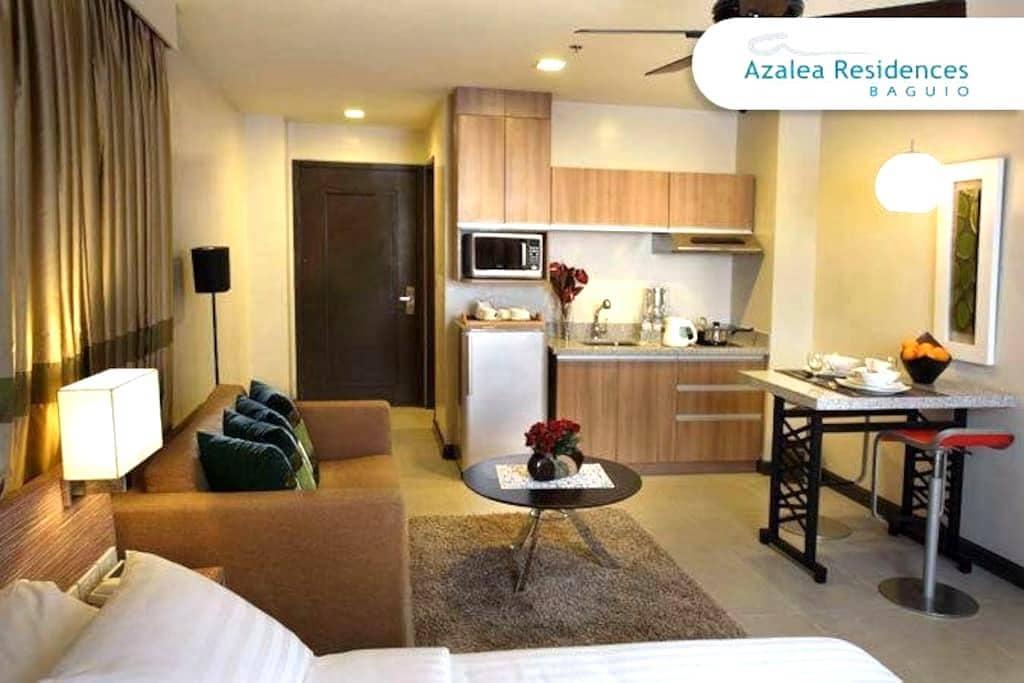 A2 Deluxe Suite in Azalea Residence - Baguio - Flat