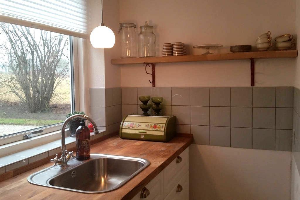 Hygge lejlighed 50 kvm udlejes ved RoskildeFjord. - Kirke Hyllinge