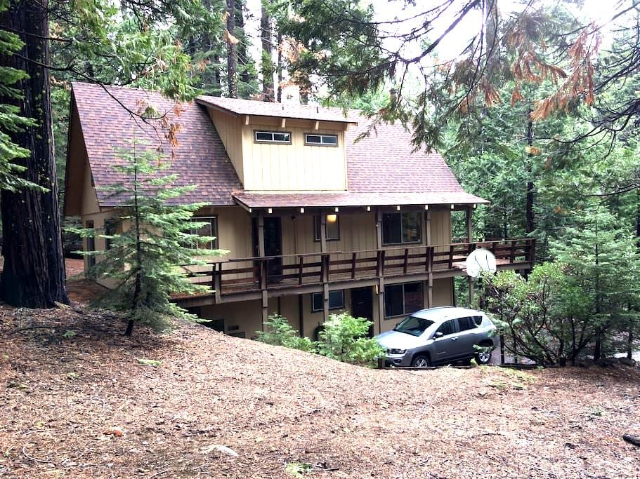 West Mill Lodge rustic family cabin - Camp Connell - Rumah