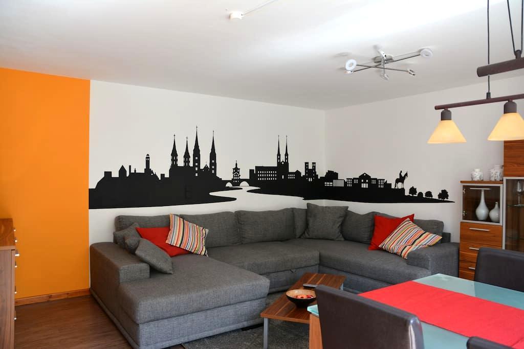Fränkische Idylle im schönen Aurachtal - Stegaurach - Apartamento