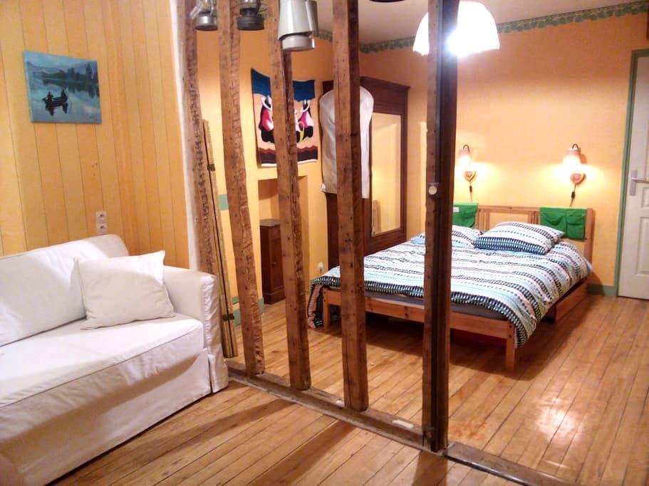 Belle chambre avec SDB, WC et salon privatifs - Coulommiers - Ház
