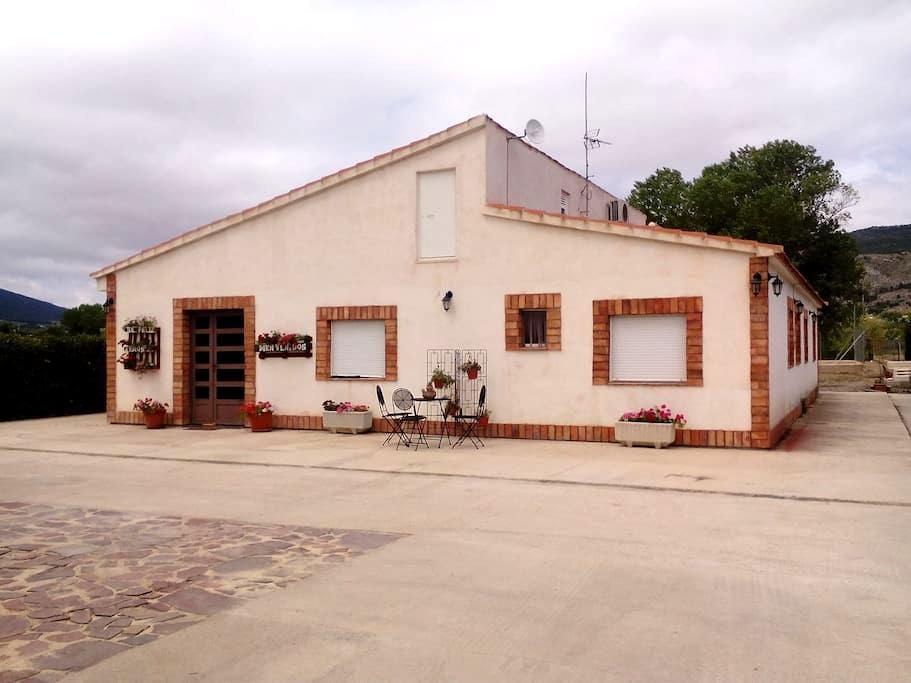 Casa rural en Onil, 30´de playa dormitorio matrimo - Onil - Casa