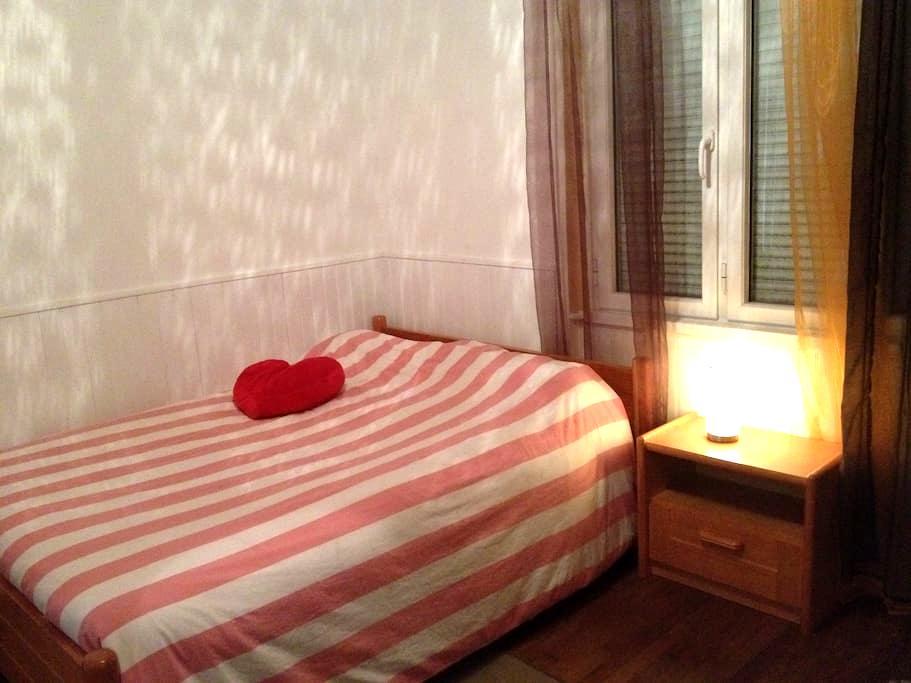 Maison avec grande chambre, plages, proche Lorient - Locmiquélic - 一軒家