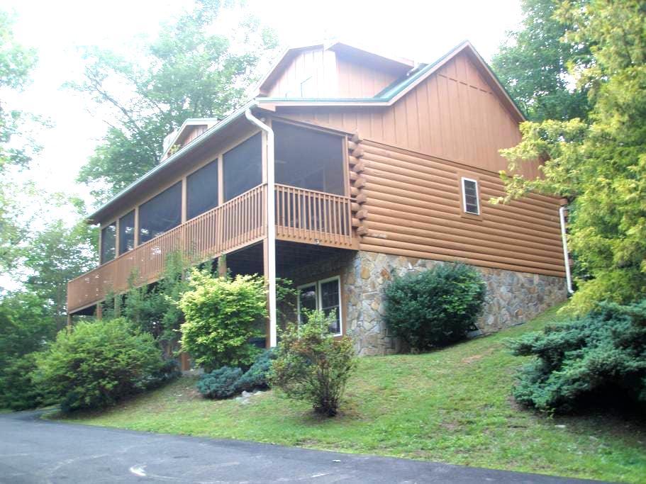 Modern Log Cabin - Hendersonville