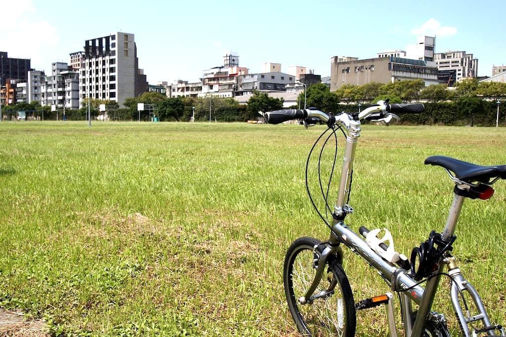 Cyclists welcomed! - Neihu District