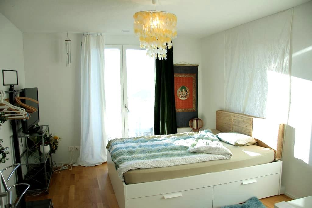 Comfortable room with balcony, close to Zurich - Dietlikon - Appartement