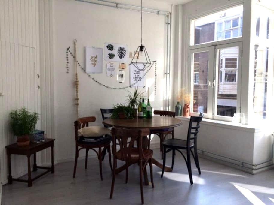 Knus appartement vlakbij (trein)station Rdam Noord - 鹿特丹 - 公寓