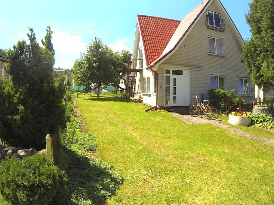 Cozy house with private yard - Birštonas - Σπίτι