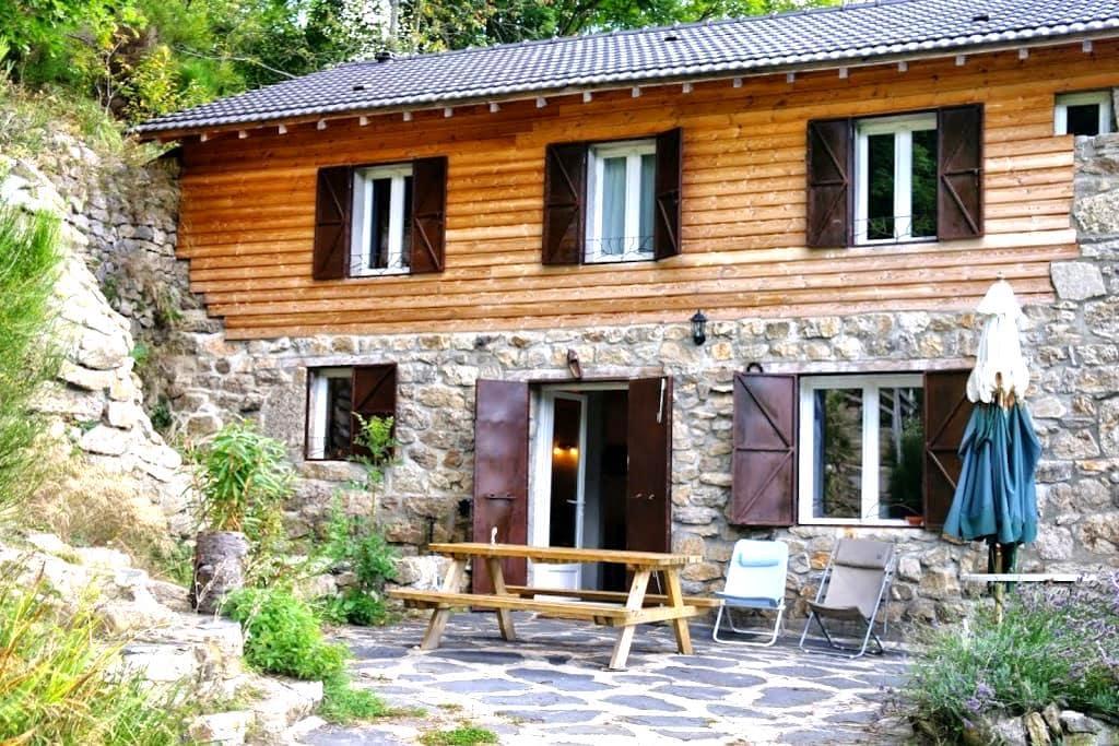 Grande maison en Ardèche verte - Rochepaule