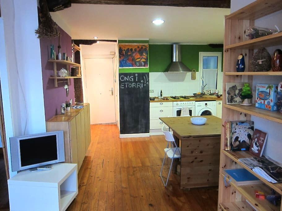 Apartamento en Bilbao la vieja. E-BI-0079 - 빌바오(Bilbao) - 아파트