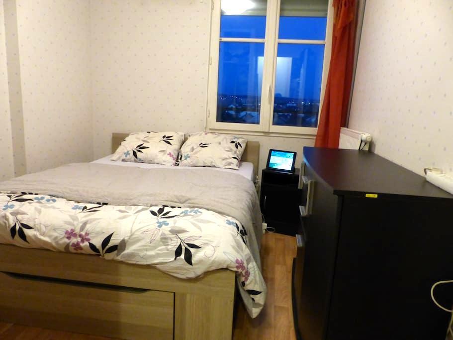 Chambre double tt confort Sartrouville - PARIS - Sartrouville - Apartamento