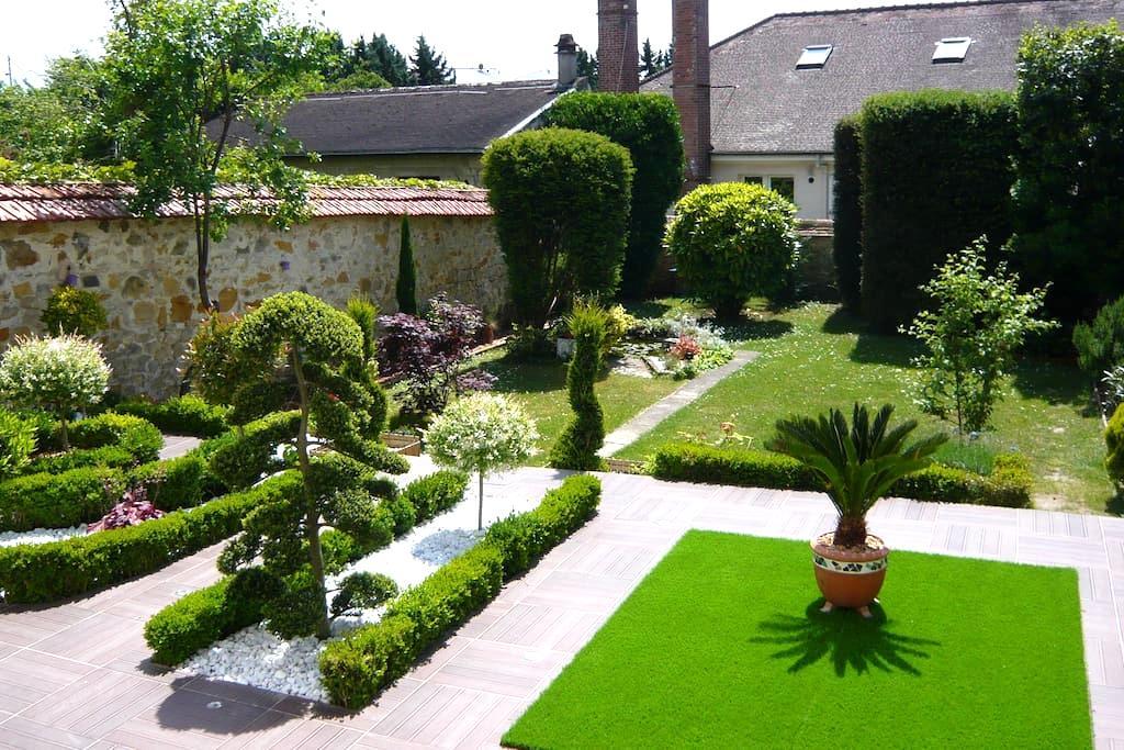 Logement sur jardin - ฟองเตนโบล - บ้าน