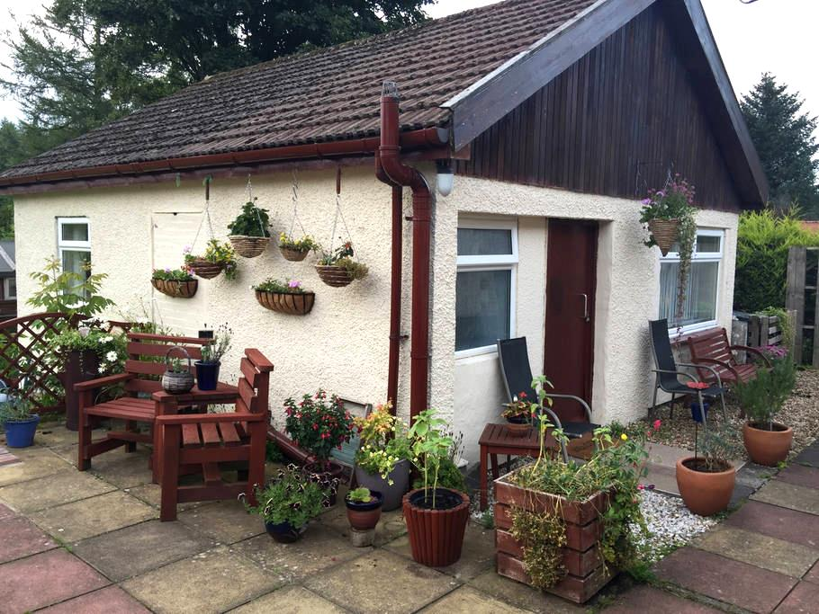 The Garden Flat near Loch Lomond - Balfron - スイス式シャレー