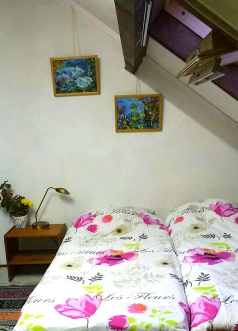 Cozy Attic room - Diemen - Bed & Breakfast
