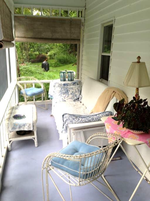 Woodstock 1845 Farmhouse - Bearsville - Rumah