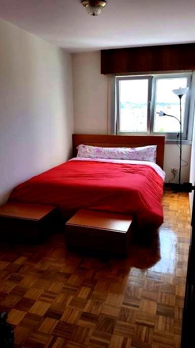 Habitación acogedora. Fácil parking - Corunha - Apartamento