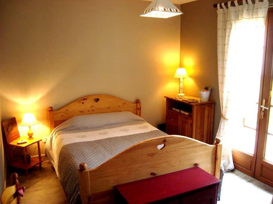 Chambre chez l'habitant - Monflanquin - Huis