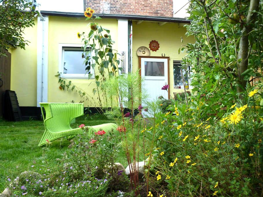 gemütliches Hinterhaus in Citylage - Lüneburg - Casa