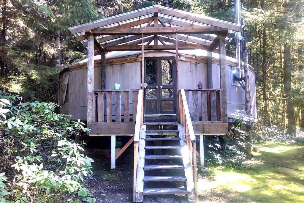 30' Celestial Yurt - Westfir