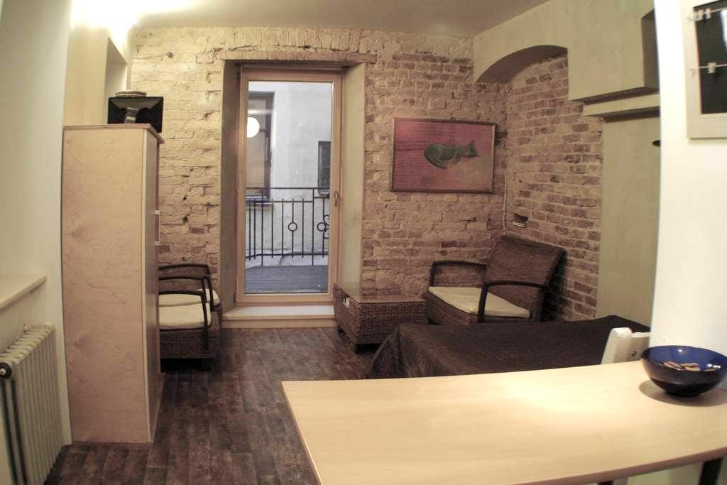 Quiet stay in noisy environment! ;) - Riga - Apartemen