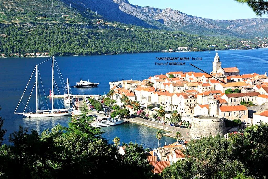 Korcula Old Town cosy studio apartment - Korčula - Lejlighed