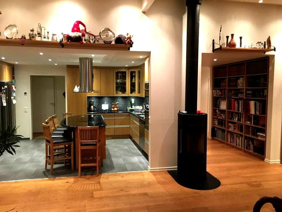 Large, modern and beautiful home for big families - Huddinge - Casa