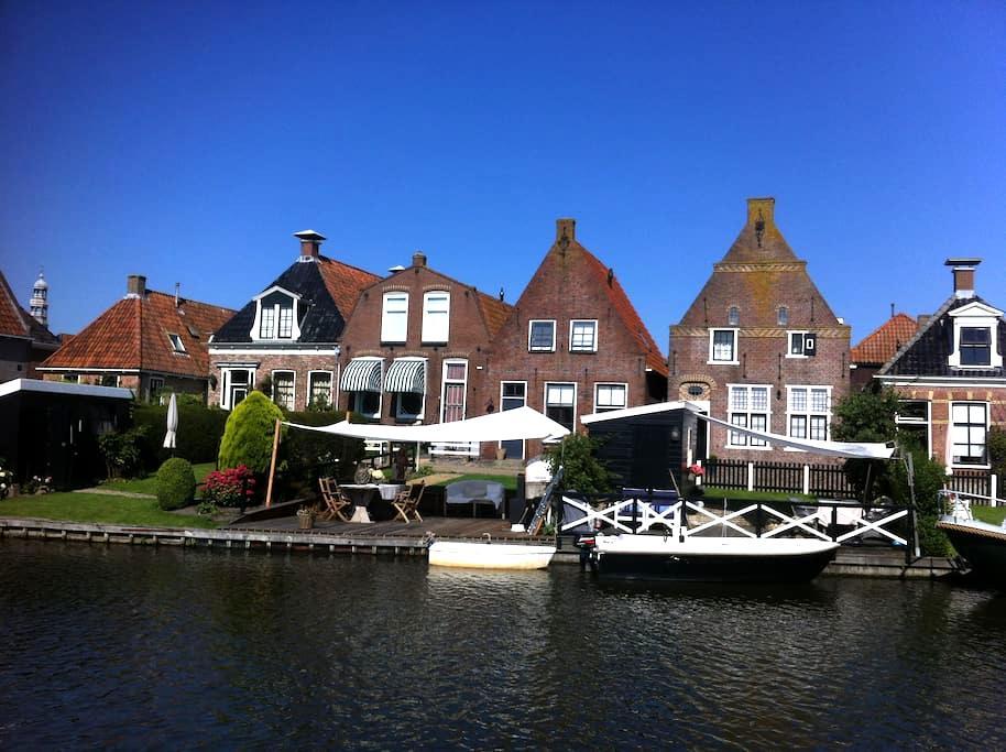 Complete house in Hindeloopen - Hindeloopen - House