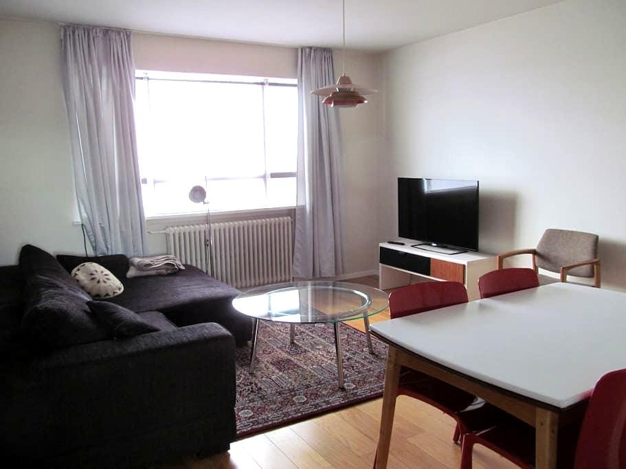 Centrally located apartment in a lovely area - Reykjavík - Apartemen