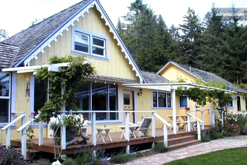 Garden room near ocean + 2 meals - Ferndale - Casa