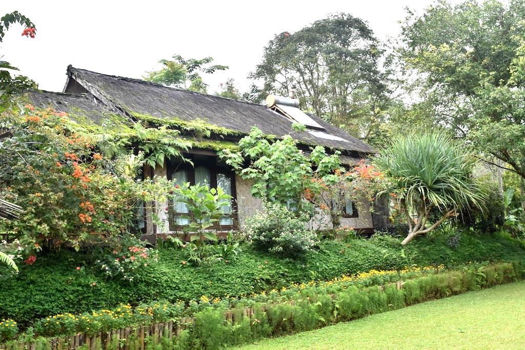 Rumah adat / Butterfly Haven / Ibeka FARM - Ciater - Rumah