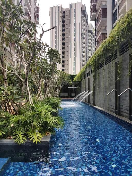 Brand New Resort-Style Condo Near CBD & MRT! - Singapore - Lägenhet