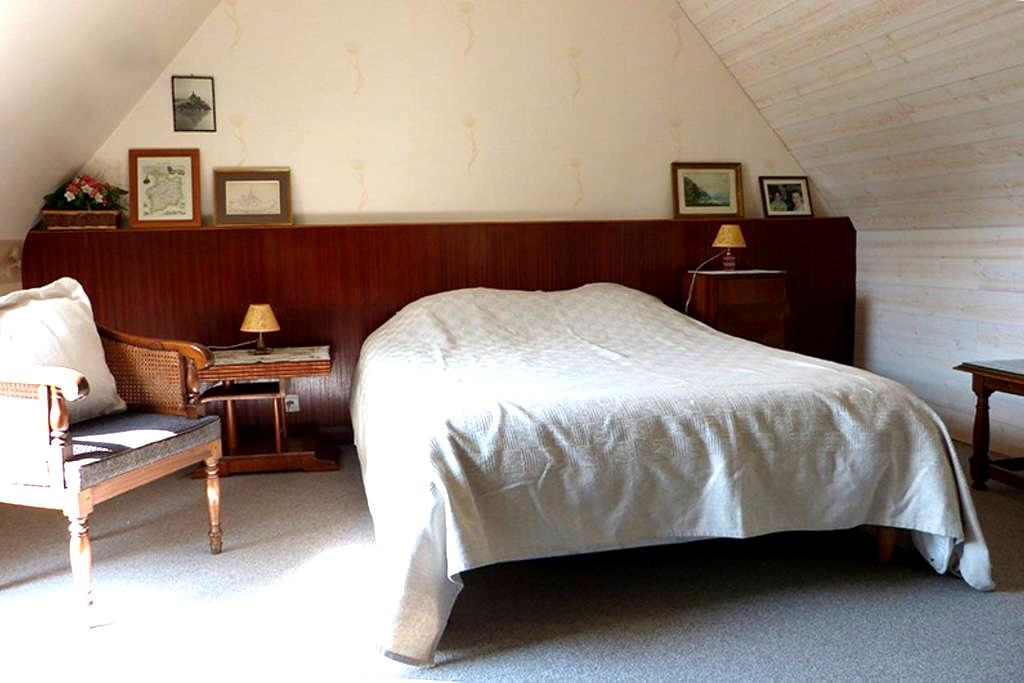 Très grande Chambre tout confort - Dinard - ที่พักพร้อมอาหารเช้า