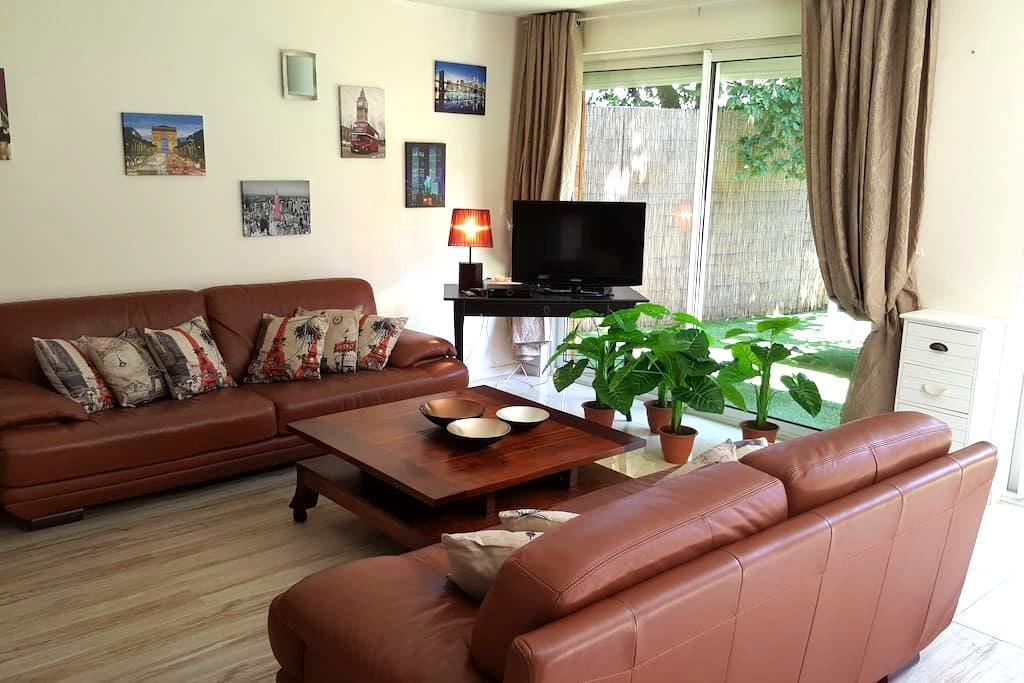 Charming and cozy 100m² apartment close to Disney - Ozoir-la-Ferrière - Apartment