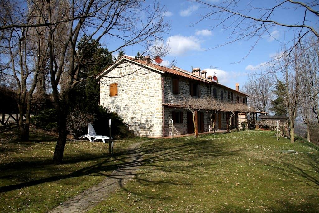 Rustico house for rent in Italy - Bagno di Romagna